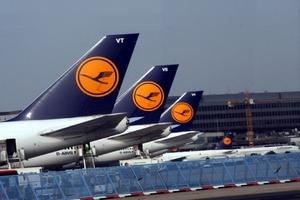 Ακυρώθηκαν 3.800 πτήσεις της Lufthansa