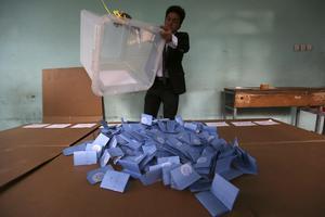 Αναβλήθηκε η ανακοίνωση των αποτελεσμάτων των εκλογών στο Αφγανιστάν