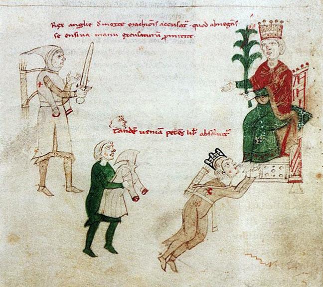 Ο σταυροφόρος Ριχάρδος ο Λεοντόκαρδος