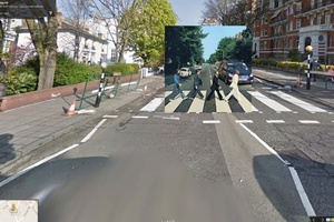 Κλασικά άλμπουμ στο Google Street View