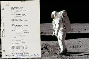 Ένα εκατομμύριο δολάρια για αναμνηστικά από το διάστημα