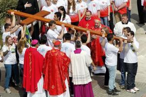 Γιόρτασαν την Κυριακή των Βαΐων στο Βατικανό