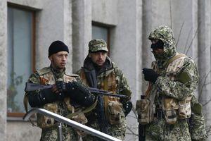 Κατελήφθησαν κυβερνητικά κτήρια στην Χορλίβκα
