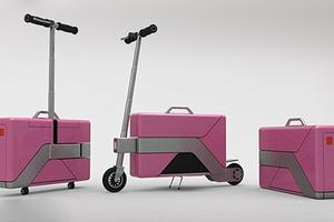 Το σκούτερ… βαλίτσα!