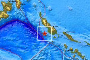 Σεισμός 7,5 Ρίχτερ σημειώθηκε ανοιχτά της Παπούας Νέας Γουινέας