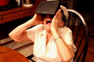 Ετοιμοθάνατη ηλικιωμένη βλέπει τον έξω κόσμο μέσω εικονικής πραγματικότητας!