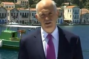 Γιατί μοβ γραβάτα, γιατί μπλε κοστούμι, γιατί στο Καστελόριζο...