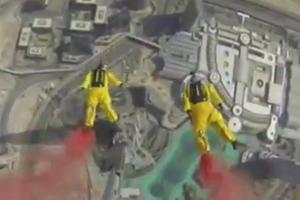 Πηδώντας από το ψηλότερο κτήριο του κόσμου