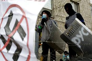 Στο Κίεβο ο έλεγχος του δημαρχείου Μαριούπολης