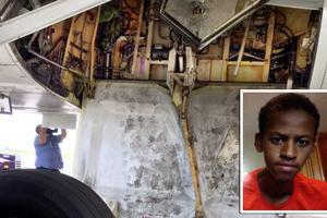 Ταξίδεψε στον τροχό αεροσκάφους με σκοπό να βρει τη μητέρα του!