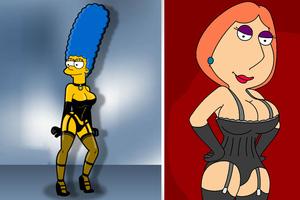 Marge Simpson ή Lois Griffin;