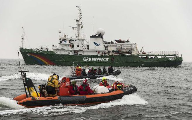 H Greenpeace μπλόκαρε πλοίο με Ι.Χ. της Volkswagen