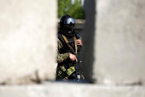 Δύο τραυματίες από έκρηξη στο Κίεβο