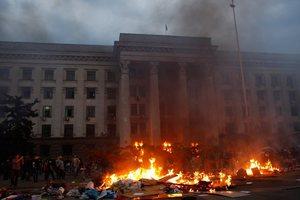 Αμερόληπτη έρευνα για τη φωτιά στην Οδησσό ζητά η Ρωσία