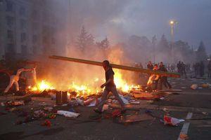 Σφοδρές μάχες στο Κραματόρσκ της Ουκρανίας