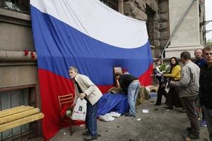 Εικόνες μετά την τραγωδία στην Οδησσό