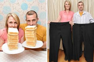 Μαζί στη ζωή και στη... δίαιτα!