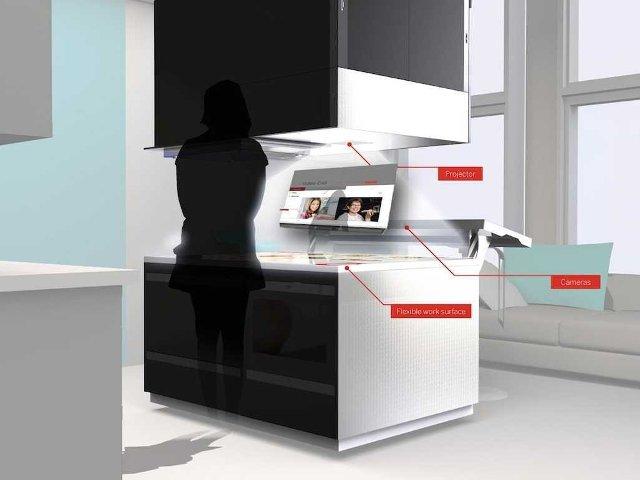 Η «έξυπνη» κουζίνα του μέλλοντος Kitchen4