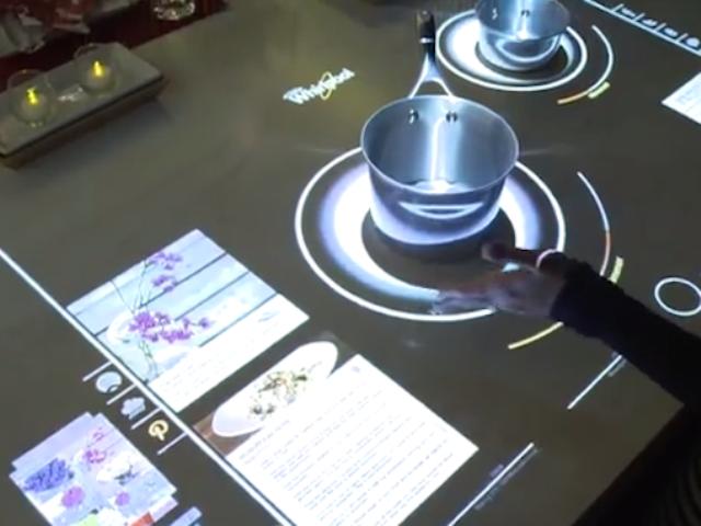 Η «έξυπνη» κουζίνα του μέλλοντος Kitchen5