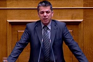 Ξέσπασε σε κλάματα ο Μπούκουρας στη Βουλή