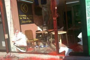 Επίθεση σε προεκλογικό κέντρο της «Ελληνικής Αυγής» στον Άλιμο