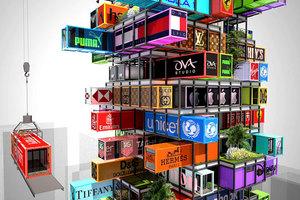 Ξενοδοχείο από... containers