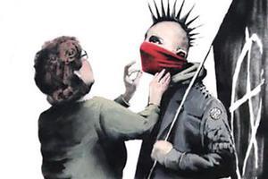 Τα επαναστατικά γκράφιτι του Banksy