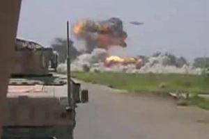 Μυστηριώδες σκάφος βομβαρδίζει στρατόπεδο Ταλιμπάν