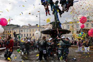 Το μεγαλύτερο street party της Φινλανδίας