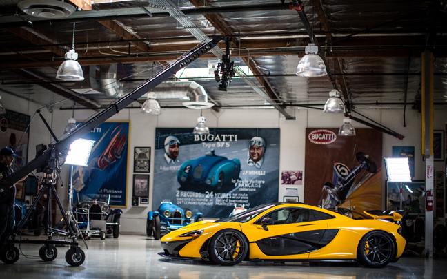 Βολτίτσα» με τη νέα McLaren P1 – Newsbeast 120183f897d