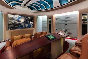Η έπαυλη με δωμάτιο εμπνευσμένο από το «Enterprise»