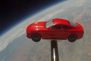 Το πρώτο Mustang στο Διάστημα είναι γεγονός!