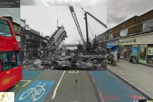 Ταξίδι στον Β' Παγκόσμιο Πόλεμο με το Google Street View