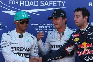 Κρατά την pole position ο Ρόσμπεργκ!