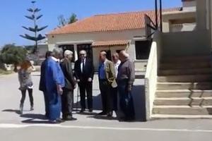 Στα Χανιά ψήφισε ο Κωνσταντίνος Μητσοτάκης
