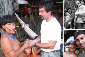 Βρήκε τη μητέρα του σε... φυλή του Αμαζονίου