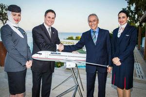 Νέα συνεργασία Etihad Airways και Aegean Airlines