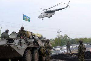 Άρματα μάχης στο Ντονέτσκ