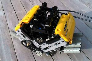 O πρώτος κινητήρας V8 από LEGO είναι γεγονός!