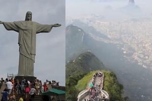 Η θέα από το άγαλμα του Ιησού στο Ρίο