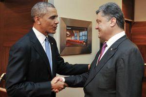 Επαφές Ομπάμα με το νέο ουκρανό πρόεδρο