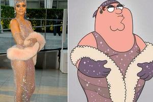 Ο Peter Griffin φορά το προκλητικό φόρεμα της Rihanna!