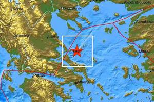 Σεισμός 4,4 Ρίχτερ στις Σποράδες