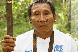 Φυλή του Αμαζονίου έκανε μάγια στους παίκτες της Εθνικής Αγγλίας