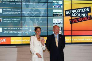 Έκκληση Χέιγκ και Ζολί για δράση κατά της σεξουαλικής βίας στον πόλεμο