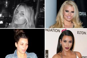 Διάσημες κυρίες χωρίς μακιγιάζ