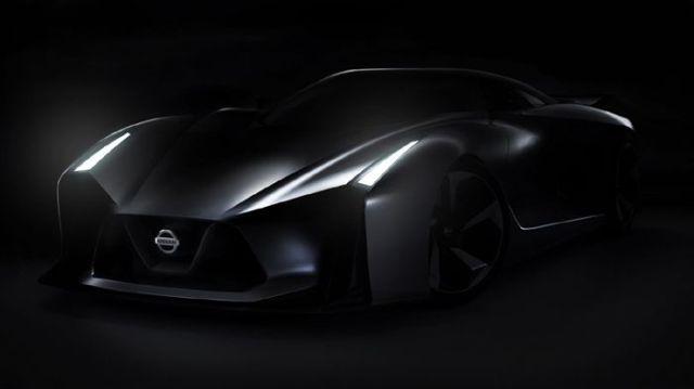 Νεο Skyline GT-R Το 2016 Nissan