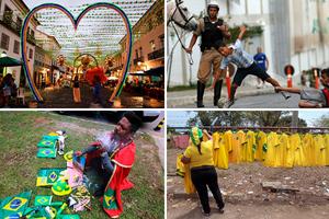 Διαφορετικές φωτογραφίες για το Παγκόσμιο Κύπελλο