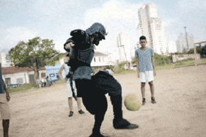 Αν οι σαμουράι έπαιζαν μπάλα...