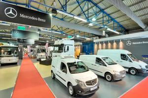 Η Mercedes στο Transport Show 2014